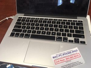 macbook pro water damage repair
